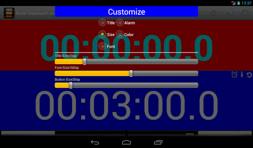 Multi Stopwatch and Timer Pro screenshot 13