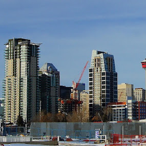 Calgary Alta. by Bill Steffler - City,  Street & Park  Skylines