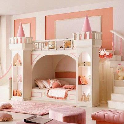 Castle Princess Bedroom Ideas