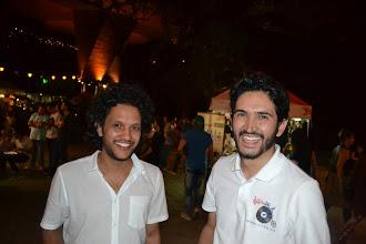 Photo: César Herrera y Juan Quiroga con energía