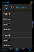 Screenshot of Sounds for sleep