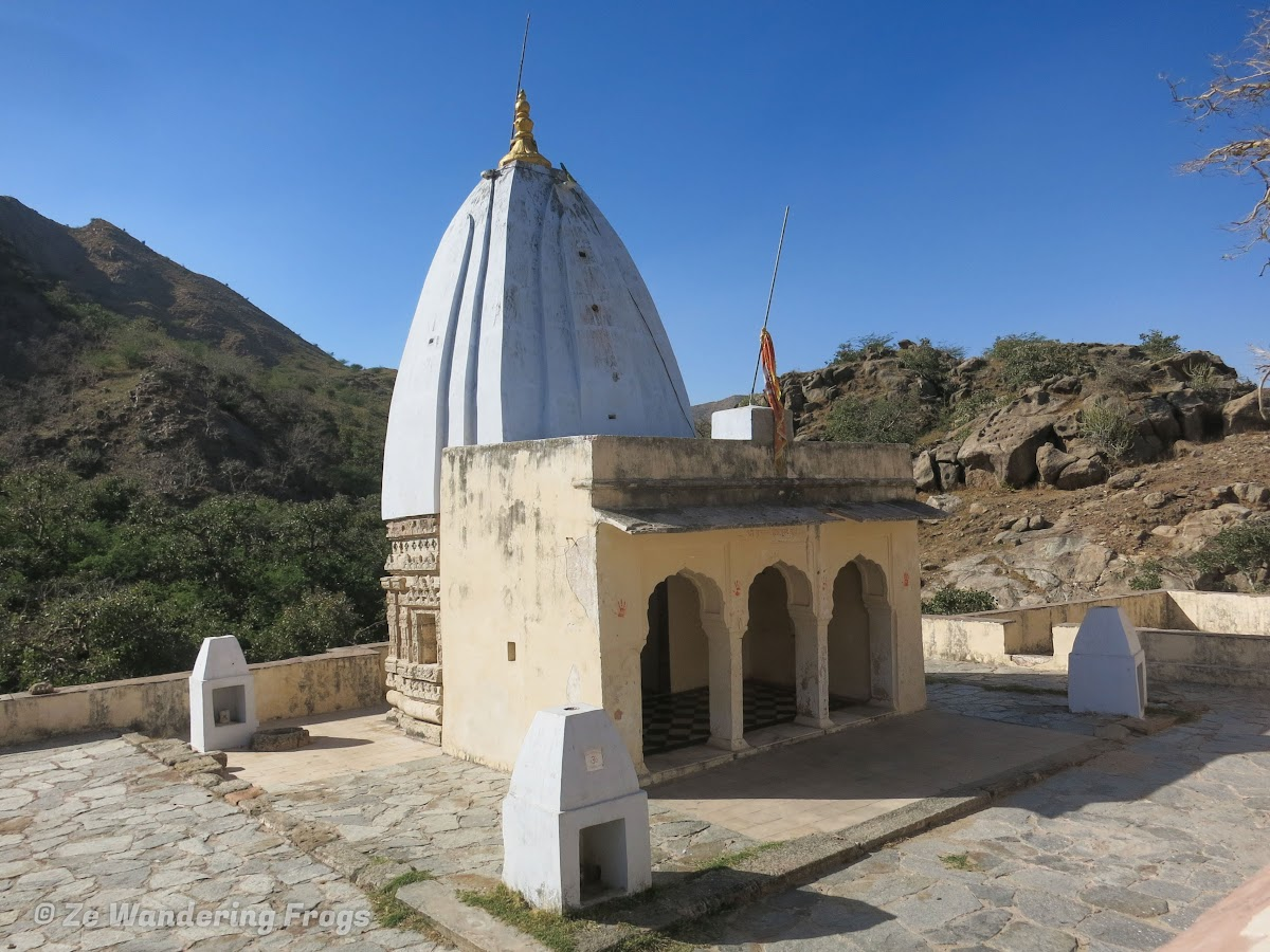 India. Rajasthan Pushkar . Ajaypal Ji Temple from Pushkar