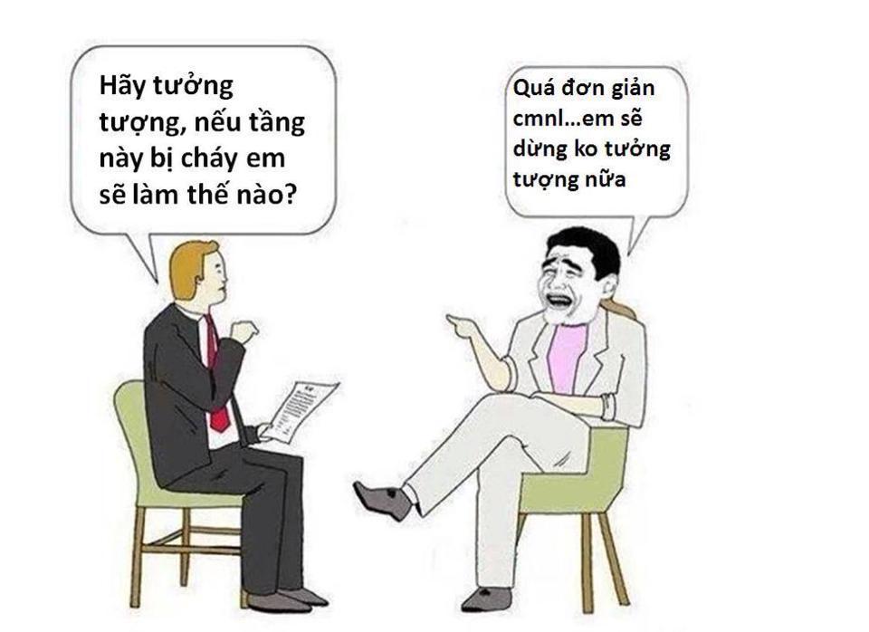 Image result for bi hài chuyện phỏng vấn