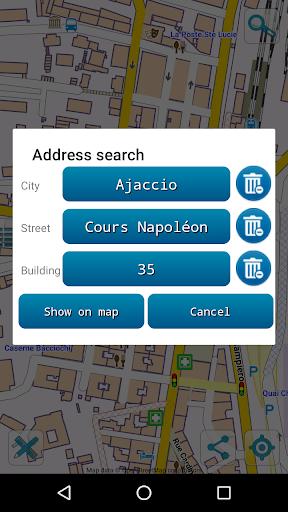 map of corsica offline screenshot 3