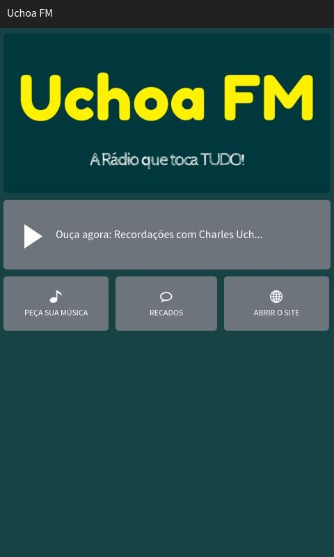 Uchoa FM- screenshot