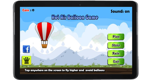 Fly with Balloon
