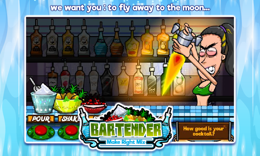Bartender Perfect Mix  gameplay | by HackJr.Pw 8