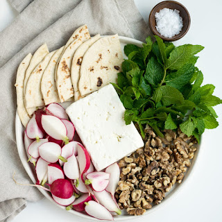 Persian Cheese Plate.