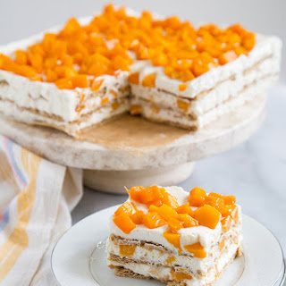 Mango Royale (Filipino Icebox Cake).