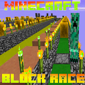 Lucky Block Race MCPE