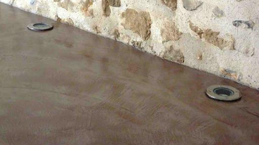 épaisseur beton cire