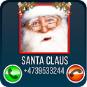 Fake Call Santa icon