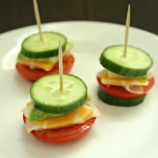 Gluten Free Cucumber Sandwiches.