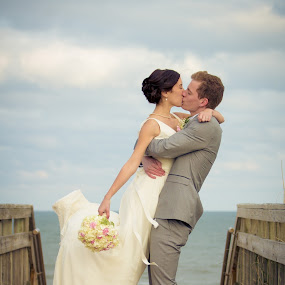 John & Sarah by Josiah Blizzard - Wedding Bride & Groom ( love, wedding, john, marriage, sarah )