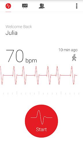 Cardiograph - Heart Rate Meter 4.1.2 screenshots 2