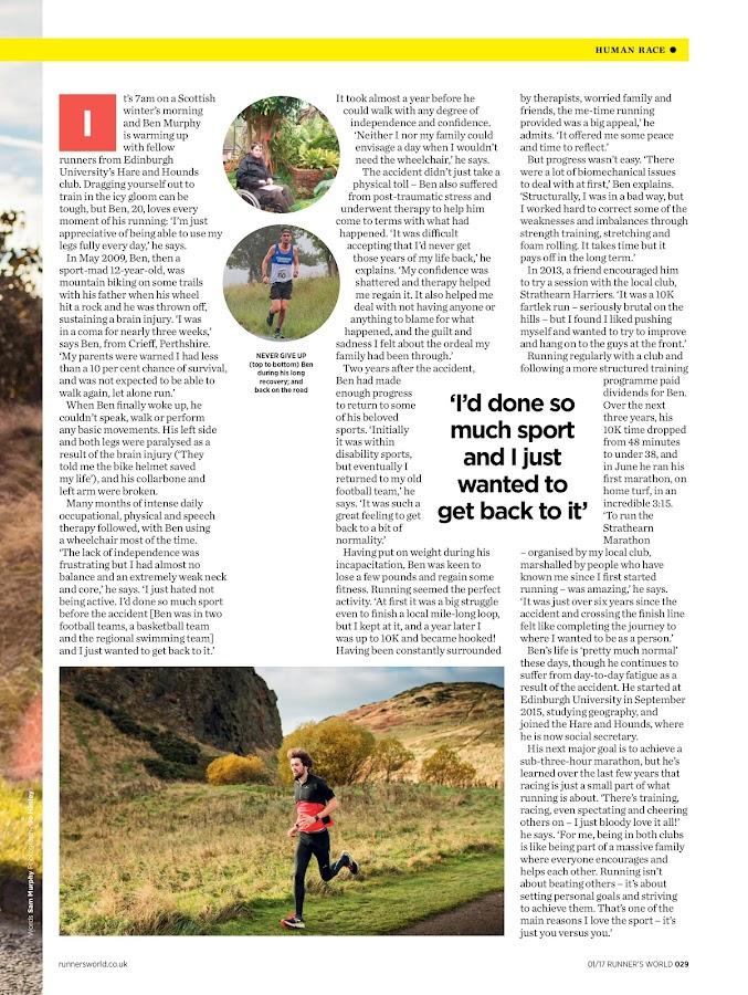 Runner's World UK- screenshot