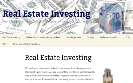 RealEstate investing property