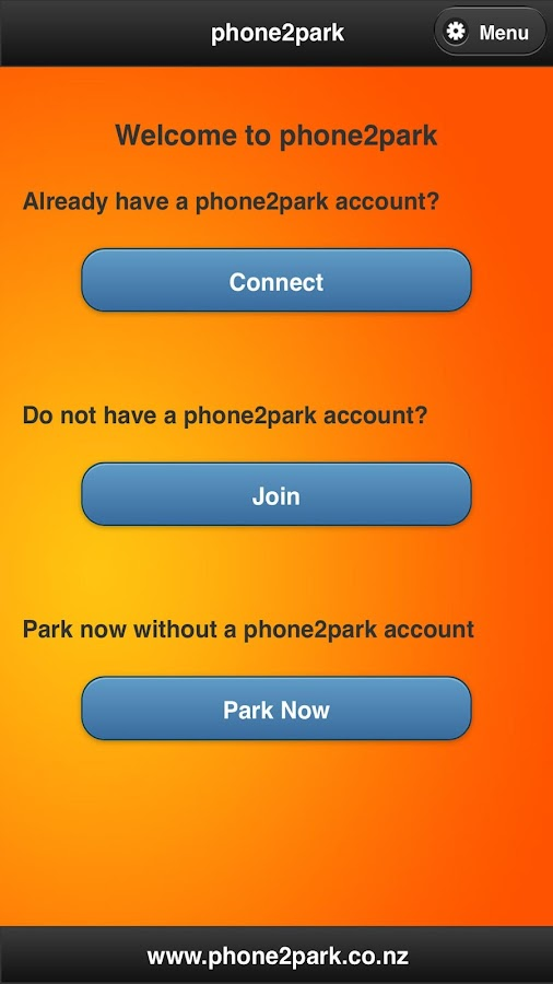 phone2park- screenshot