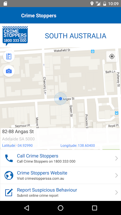 Crime Stoppers South Australia- screenshot