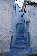 Photo: Whitewashed walls and blue doorways, it is probably the most beautiful medina in Morocco.