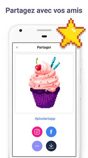 Pixel Art: Livre de peinture à numéros  captures d'écran 6