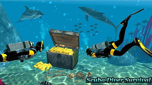 Underwater Scuba Diver Survival: Shark Hunger 2018 1.2 {cheat|hack|gameplay|apk mod|resources generator} 2