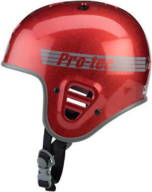Pro-Tec Full Cut Helmet: Red Flake alternate image 2