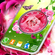 Live Wallpaper Clock \u2764\ufe0f Free Clock Background