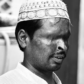 Light by Ravi Shankar - People Portraits of Men ( blind, man )