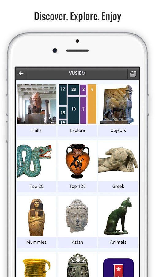 British Museum Guide Lite- screenshot