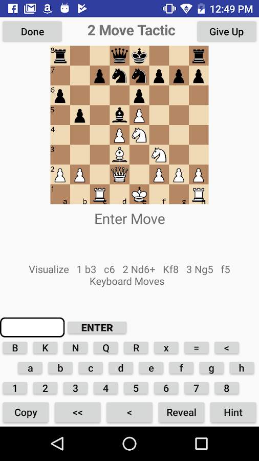 Chessvis- screenshot