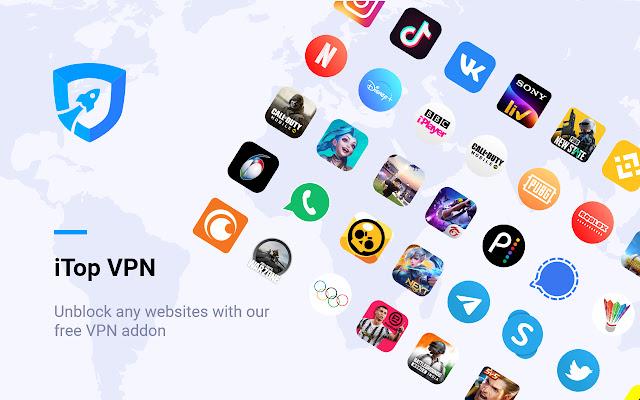 iTop VPN - Best Free VPN Chrome Extension