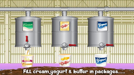 Milk Factory Farm Cooking Game- screenshot thumbnail