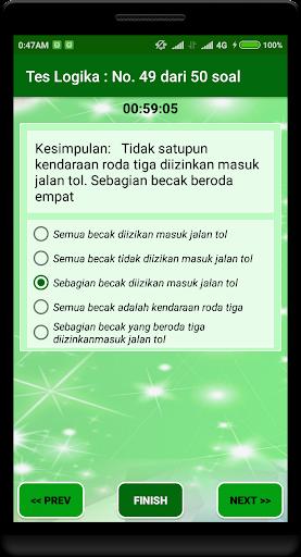 Latihan Tes Potensi Akademik 2018 1.2.0 screenshots 8