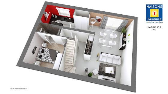 Vente terrain à bâtir 210 m2