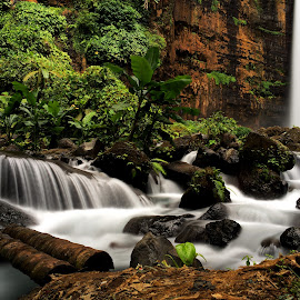 kapas biru waterfall by Bendy Aza - Instagram & Mobile iPhone ( #iphone #iphone5s )
