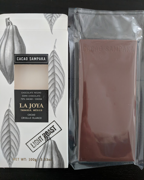 70% cacao sampaka la joya bar