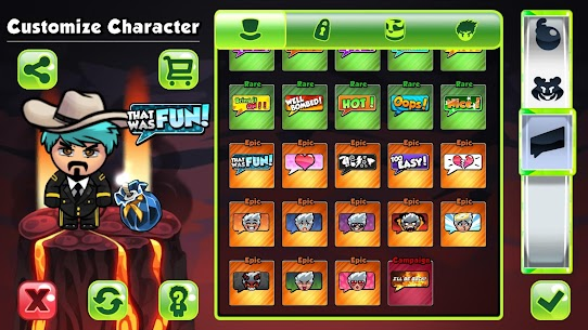 Bomber Friends MOD APK [Unlocked Skins] 3.90 8