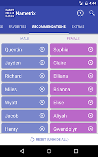 Baby Names by Nametrix- screenshot thumbnail