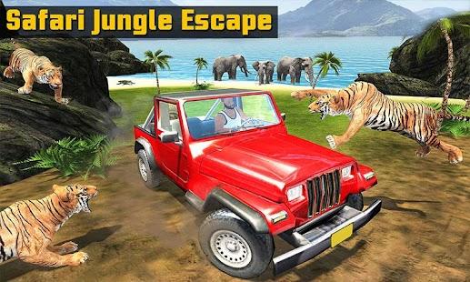 Safari Animal Offroad Jeep Escape Survival Mission - náhled