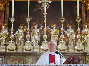 Photo: 13.10.12Birgu : église St.Laurent, messe
