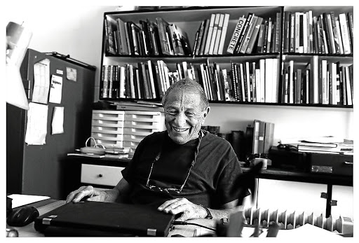 Photographer David Goldblatt, photographed at his home in Johannesburg in September 2013. Picture: ALON SKUY/THE TIMES