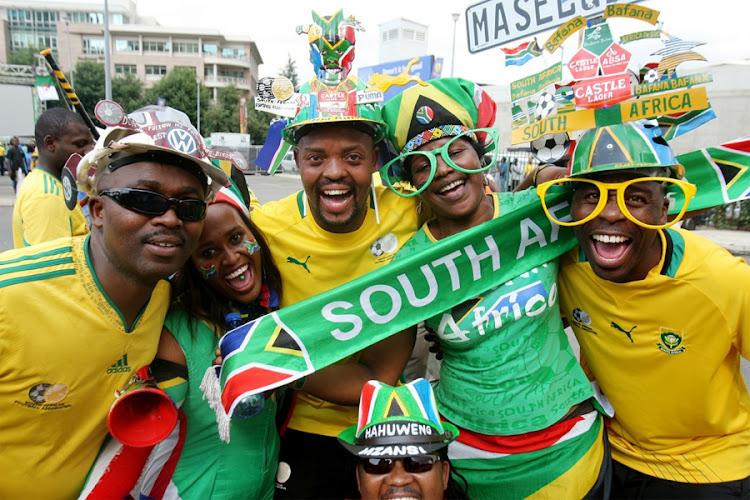 Bafana Bafana supporters. Picture: SOWETAN
