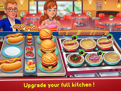 Kitchen Madness - Restaurant Chef Cooking Game modavailable screenshots 15