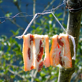 Dried Meat by Jerson Jeff - Food & Drink Meats & Cheeses ( jerson biado, igorot, philippines )