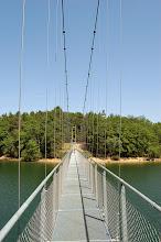 Photo: Passerelle himalayenne (Lac de Saint Etienne Cantalès 600 ha)