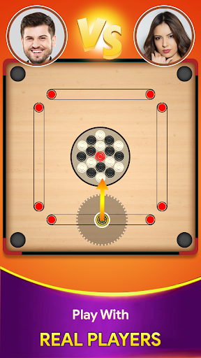Carrom board game - Carrom online multiplayer 16 screenshots 1