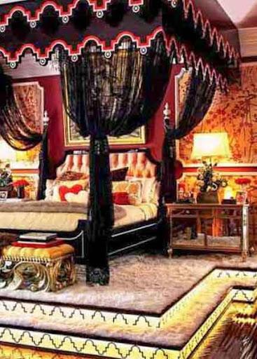 Bedroom Curtain Design Idea