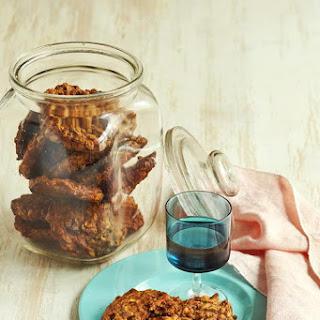 Maple, Apple and Muesli Cookies.