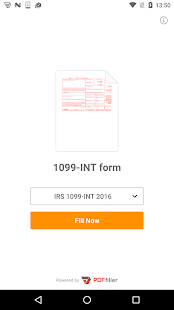 1099-INT form- screenshot thumbnail